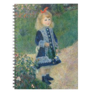 Carnet Pierre un Renoir | une fille avec une boîte