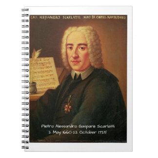Carnet Pietro Alessandro Gaspare Scarlatti
