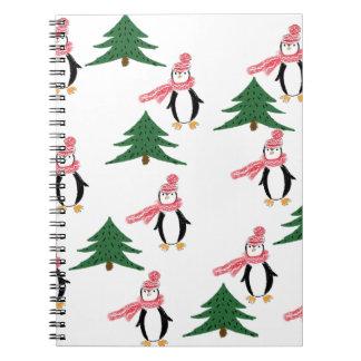 Carnet Pingouin de Noël
