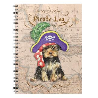 Carnet Pirate de Yorkie