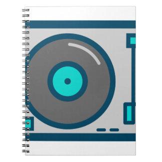 Carnet Plaque tournante du DJ