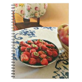 Carnet Plat des fraises