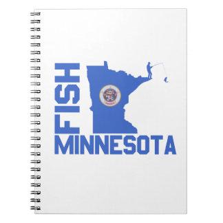 Carnet Poissons Minnesota