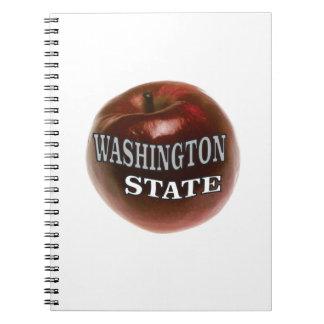 Carnet Pomme de rouge de l'état de Washington
