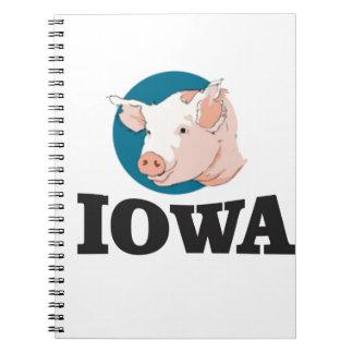 Carnet porcs de l'Iowa