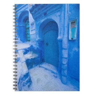 Carnet Porte bleue de ville