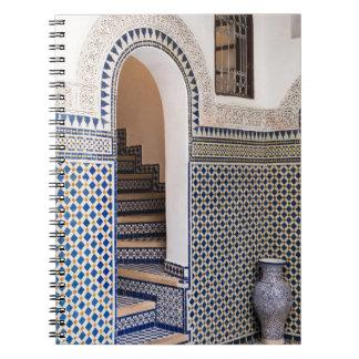 Carnet Porte carrelée marocaine
