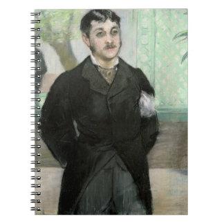 Carnet Portrait de Manet | de M. Gauthier-Lathuille
