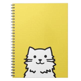 Carnet Portrait drôle de chat