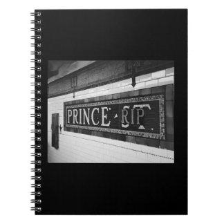 Carnet Prince (DÉCHIRURE)