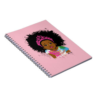 Carnet Princesse Notebook de moka