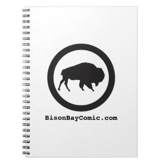 Carnet Protection de Steno de baie de bison