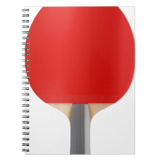 Carnet Raquette de ping-pong