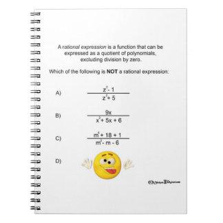 Carnet rationnel d'expressions