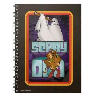 Carnet Recherche de fantôme de Scooby-Doo | hirsute et