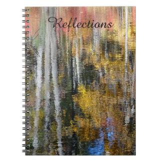 Carnet Réflexions en couleurs