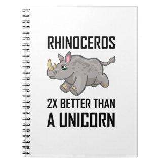Carnet Rhinocéros meilleur que la licorne