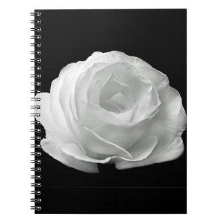 Carnet Rose blanc