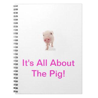 Carnet rose de porc