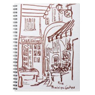 Carnet Rue Dominique Conte, Grasse, France
