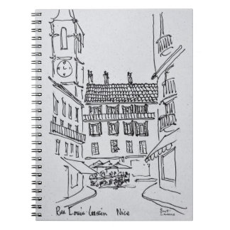 Carnet Rue Louis Gassin, vieux Nice | Nice, France