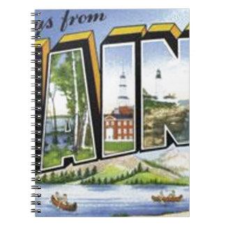 Carnet Salutations du Maine