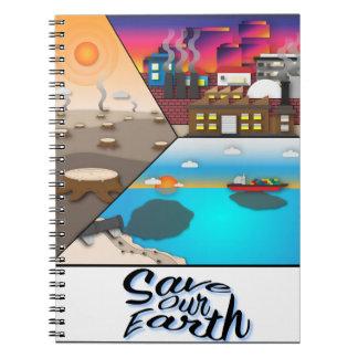 Carnet Sauvez notre terre