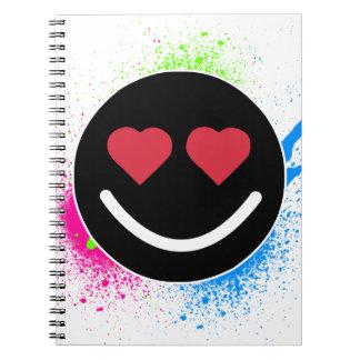 Carnet Smiley Coeur