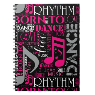 Carnet Soutenu pour danser ID277 rose