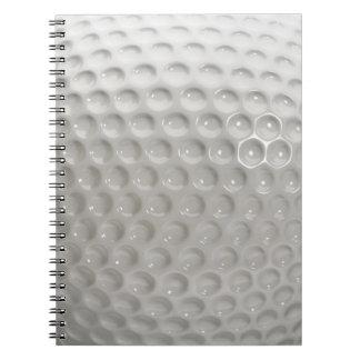 Carnet Sport de boule de golf