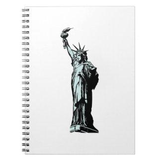 Carnet Statue du dessin de liberté