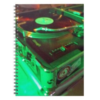 Carnet Sujets de vinyle !