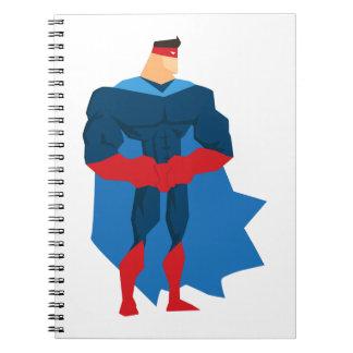 Carnet Super héros dans l'action