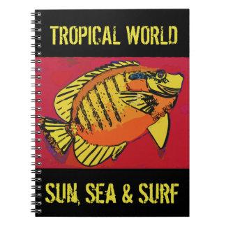 Carnet Surf tropical