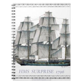 Carnet Surprise 1796 de voie HMP