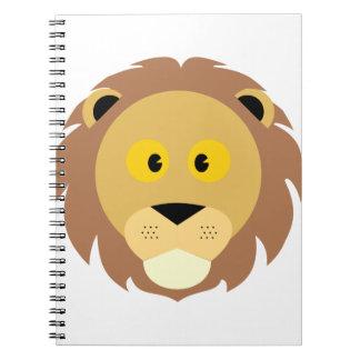 Carnet Tête de Lion