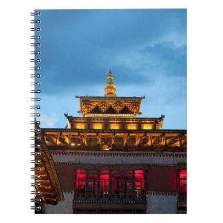 Carnet Toit bouddhiste de Dzong