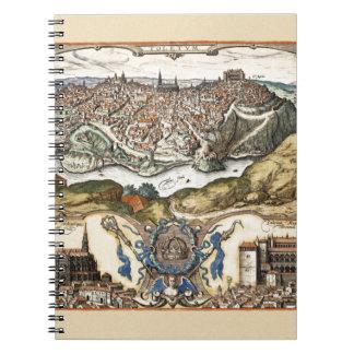Carnet Toledo Espagne 1566