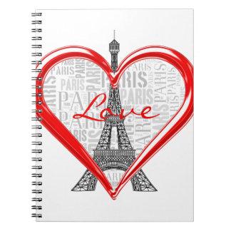Carnet Tour Eiffel de Paris | France d'amour