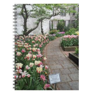 Carnet Tulipe New York City NYC de jardin de la