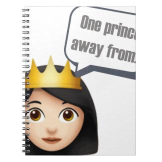 Carnet un prince à partir d'Emoji