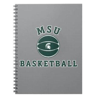 Carnet Université de l'Etat d'État du Michigan du