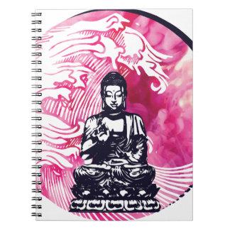 Carnet Vague de Bouddha d'ouragan
