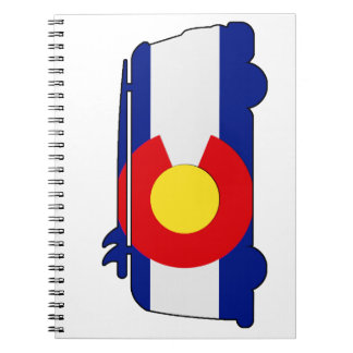 Carnet Van hippie - Colorado