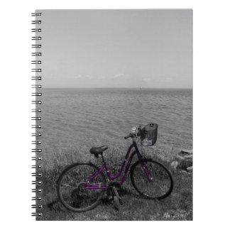 Carnet Vélo à la couleur choisie de Mackinac