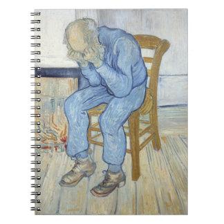 Carnet Vieil homme de Vincent van Gogh | dans la peine