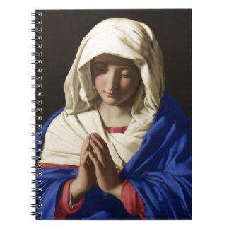 Carnet Vierge Marie