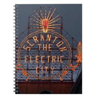 Carnet Ville électrique de Scranton