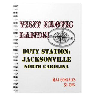 Carnet Visite Jacksonville OR exotique des USA