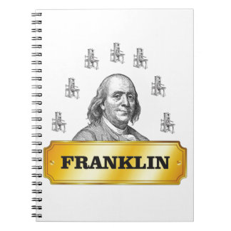 Carnet voûte de presse de Franklin